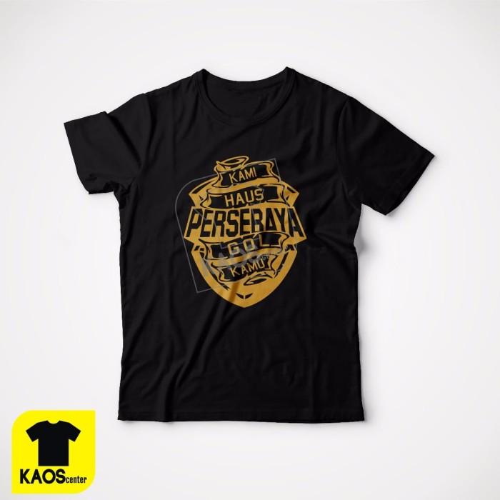harga Kaos tshirt baju combed 30s distro persebaya kami haus gol kamu jersey Tokopedia.com