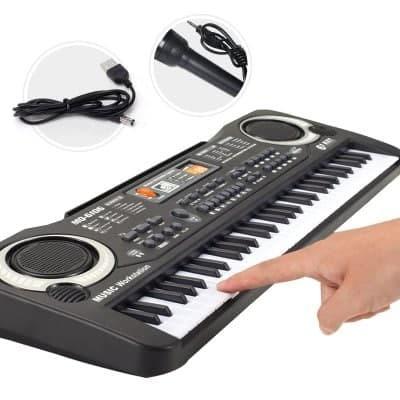 harga Keyboard electronic organ with microphone music Tokopedia.com