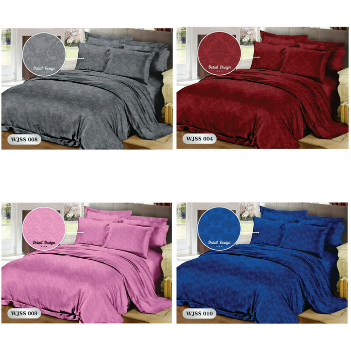harga Bedcover set katun jepang king dan queen size, lembut dan tdk luntur Tokopedia.com