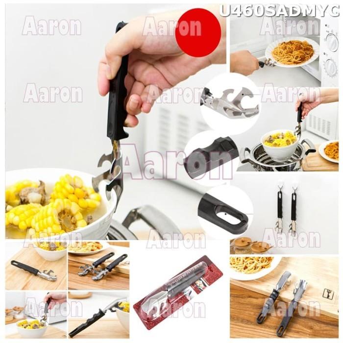 Foto Produk Stainless Steel Hot Bowl Clip /Penjepit Mangkuk Piring Kukusan U460 dari aaron kitty shop