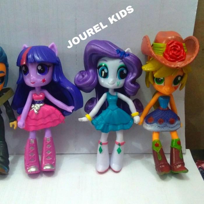 Jual mainan anak cewek boneka my little Pony figure set equestria ... da9eb982b2