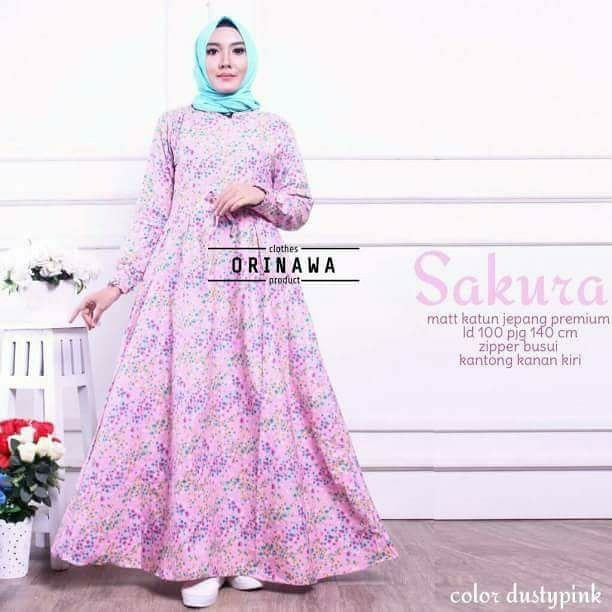 harga Sakura dress original by orinawa Tokopedia.com