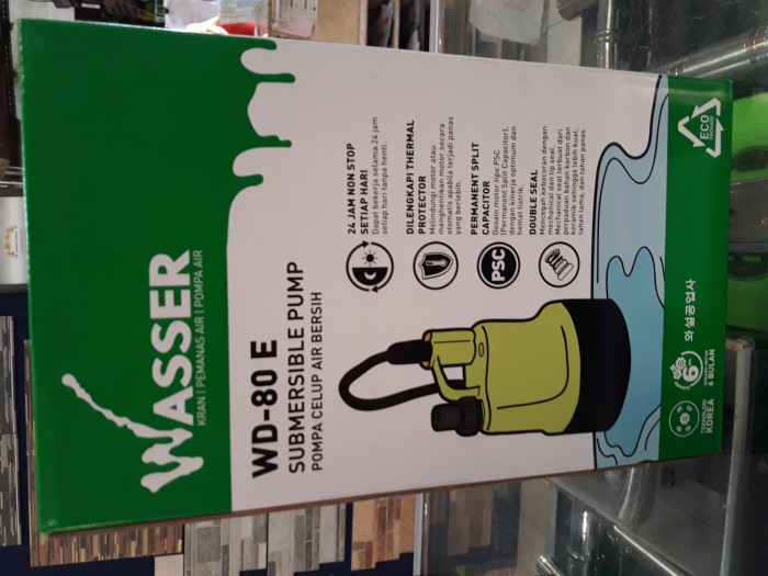 Pompa celup wasser WD 80-E