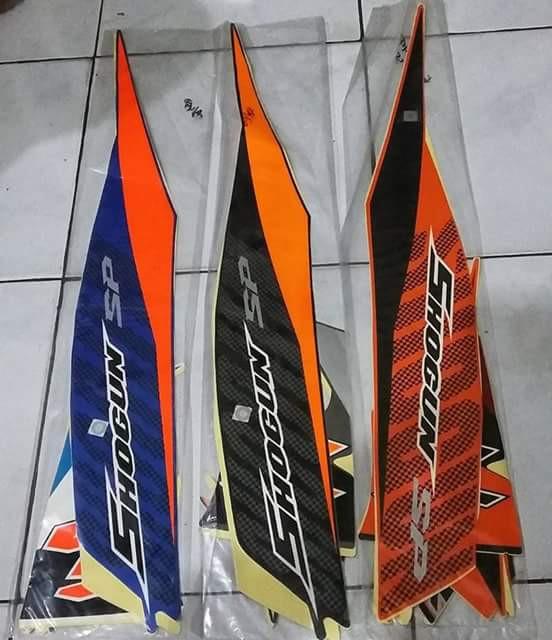 Striping lis sticker standart shogun sp th 2007/2008