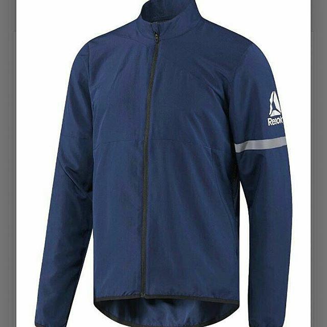 38fe225c4b63a Jual jaket running reebok pria  reebok men woven jacket - Kota ...