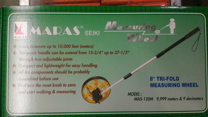 harga Meteran jalan roda dorong manual walking measure Tokopedia.com