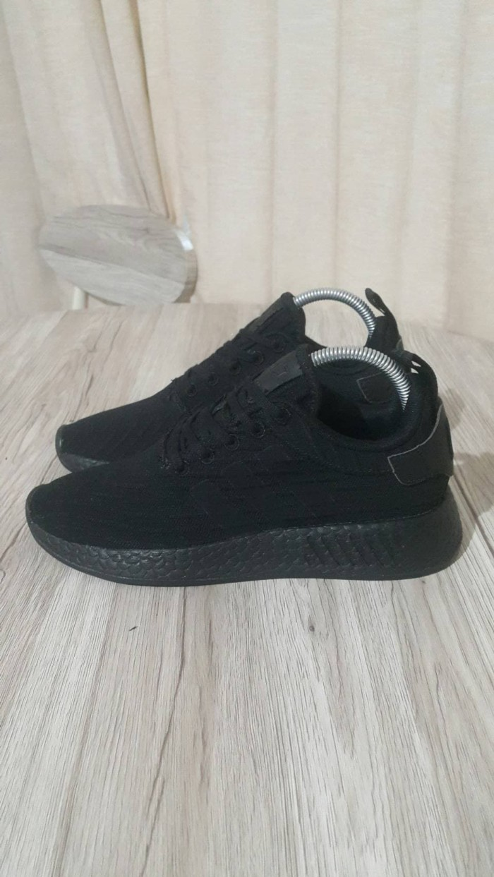 1c61b26d3ec7f Jual Adidas NMD R2 All Black - sagayastore official