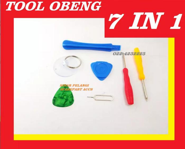 harga Tool obeng 7 in 1 plus 1.2 0.8 2 pembuka casing segitiga 907172 Tokopedia.com