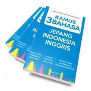 harga Kamus 3 bahasa jepang-indonesia-inggris Tokopedia.com
