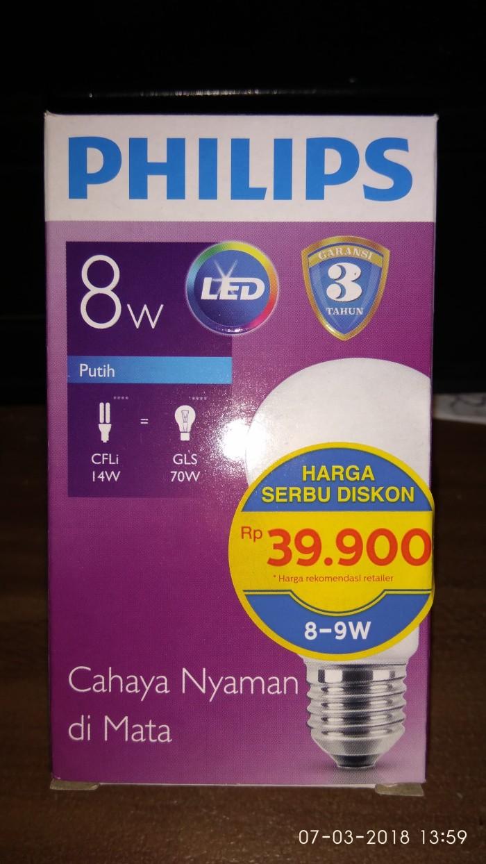 List Harga Lampu Led 8w Philips Terbaru November 2018 Katalog