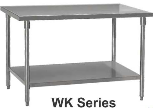 Wk 100 Stainless Steel Working Table Meja Kerja Dapur Cafe