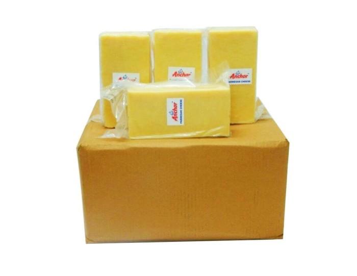 harga Anchor parmesan cheese ungrated (keju parmesan) repack 100gr Tokopedia.com