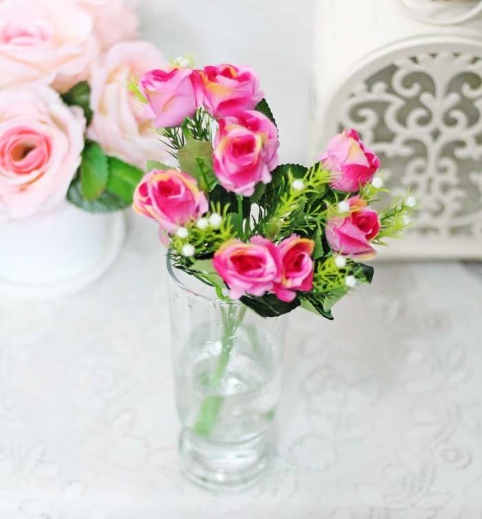 harga Bunga plastik artificial artifisial mawar rose shabby chic a2-2 Tokopedia.com