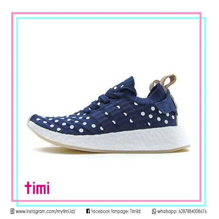 6db131850 Jual Sepatu Sneaker Adidas Nmd R2 Ronin Polka Dot Original Cewek ...