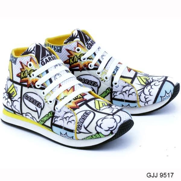 Shoes Sepatu Anak Laki-Laki Keren Dan Modis GJJ 9517 - Full Colour - 26 c445f85644