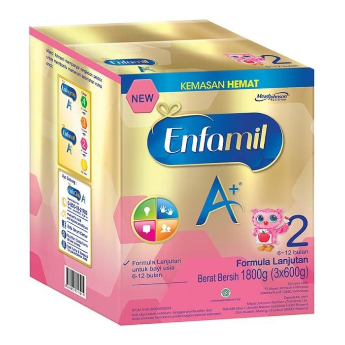 harga Enfamil a+ 2 1800 gr Tokopedia.com