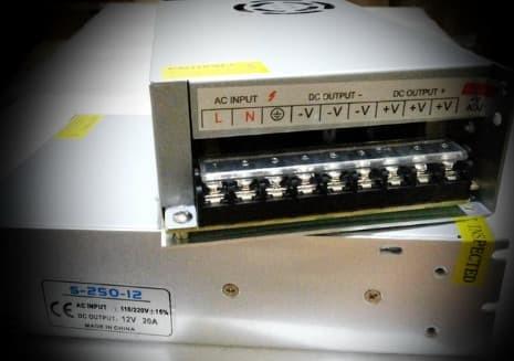harga Adaptor 12v 20a power supply switching led jaring 20 ampere 12 volt dc Tokopedia.com