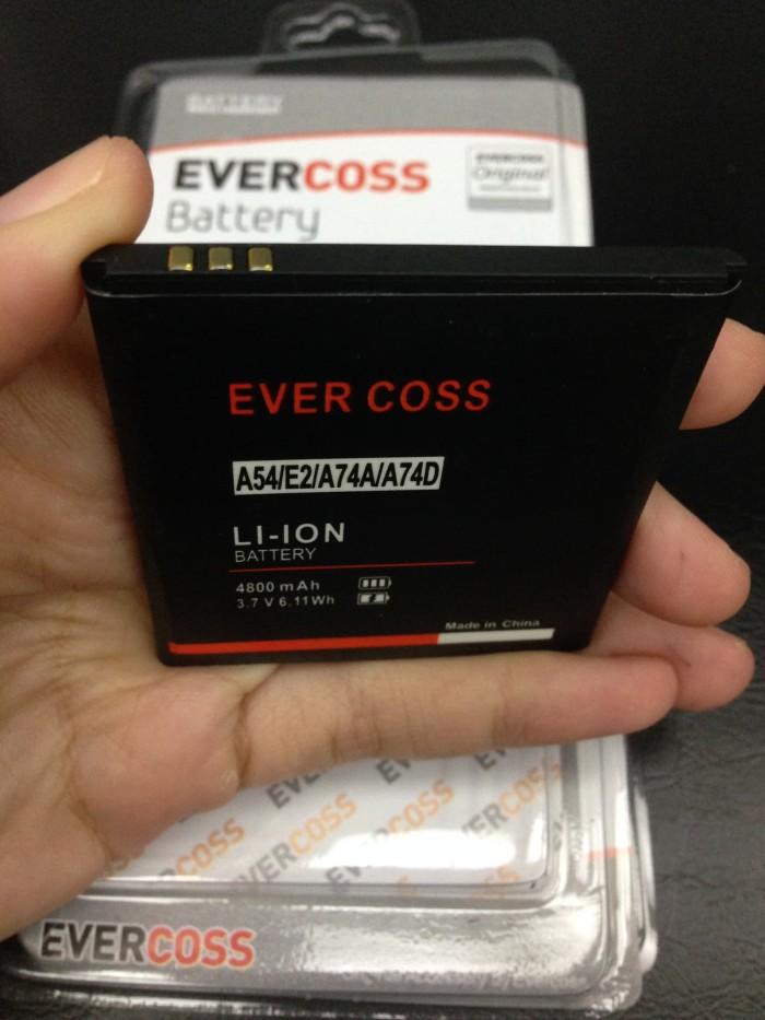 Baterai Evercoss A74a A74d A54 4800mah Original