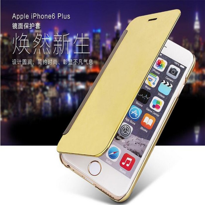 Flip mirror cover clear view iphone 5 5c 5s se iphone5