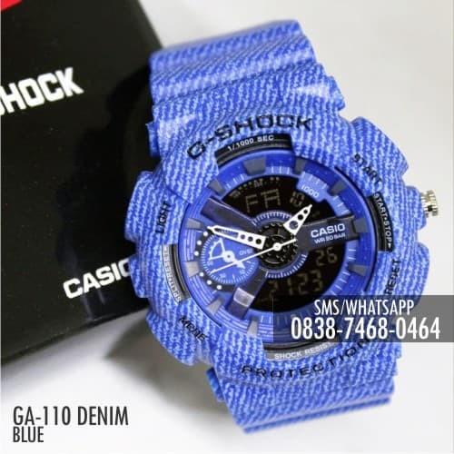 54506a06e9bda Jual Jam Tangan Casio G-Shock   Baby-G GA-110 Denim Blue Single ...