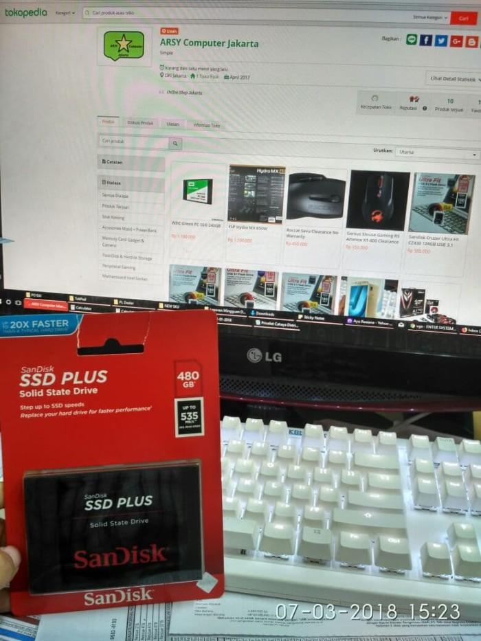Jual Sandisk SSD Plus 480GB - SDSSDA-480G - ARSY Computer Jakarta    Tokopedia