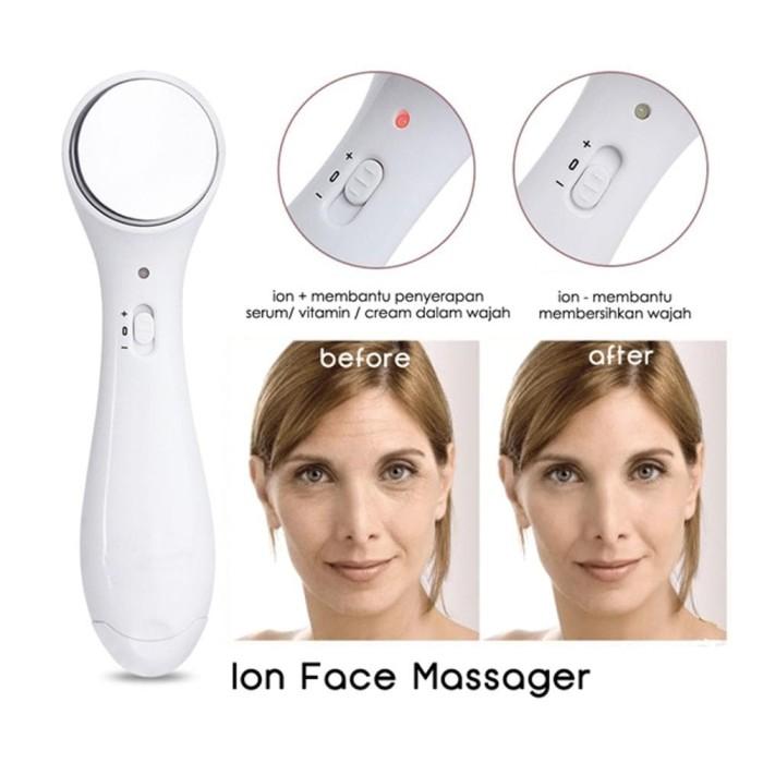 ... harga Face massager alat setrika wajah penirus pipi ion original  Tokopedia.com 3d441da93a