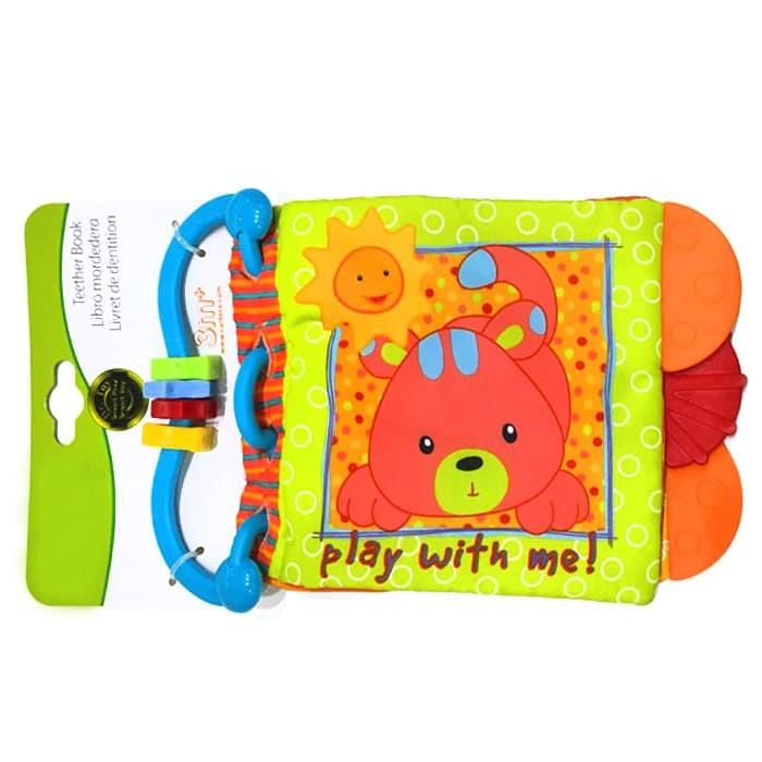 harga Ctr soft teether book - 4 motif - c - play with Tokopedia.com