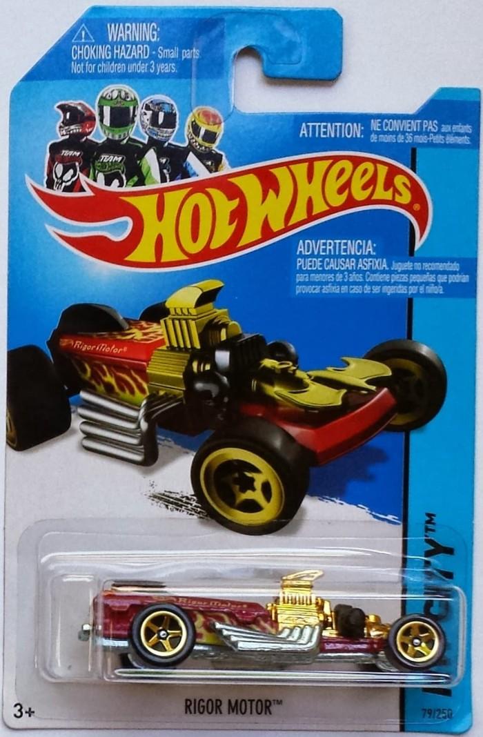 harga Hotwheels balap kenceng legenda juara  rigor motor tahun 2014 Tokopedia.com