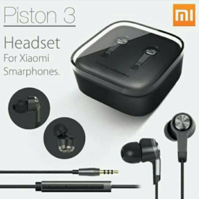 harga Earphone / handsfree / headset new xiaomi piston 3 Tokopedia.com