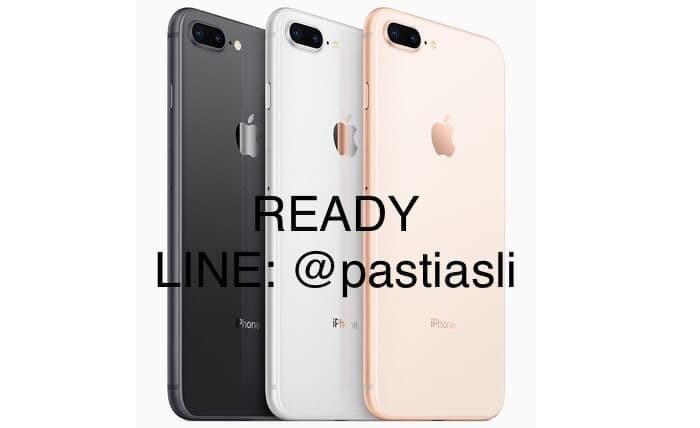 (READY STOCK) iPhone 8 Plus 64GB GOLD Garansi Resmi Apple 1 Tahun - Emas
