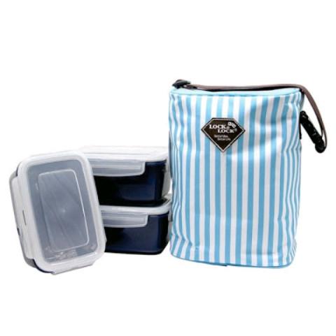 Lock n lock rectangle lunch box haf101n3