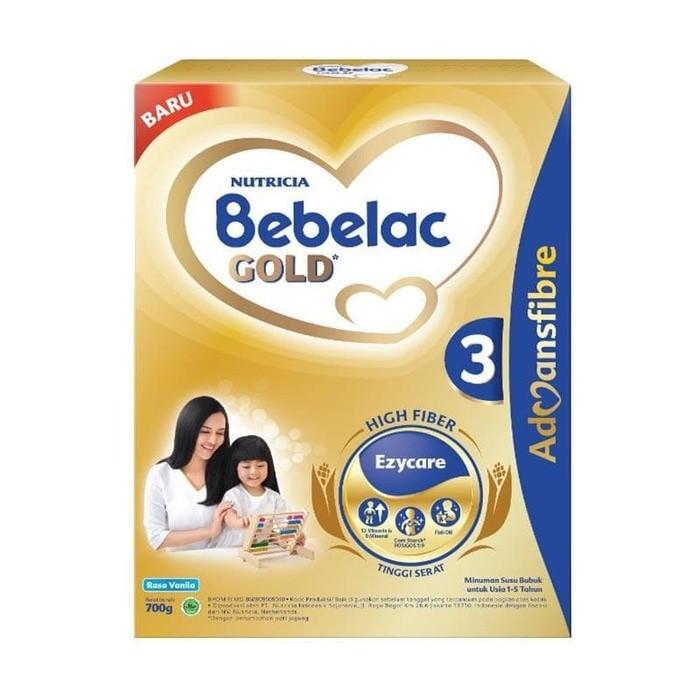 harga Bebelac 3 gold vanila 700 gr Tokopedia.com