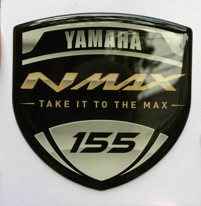 harga Aksesoris motor stiker dom yamaha nmax gold - take it to the max - Tokopedia.com