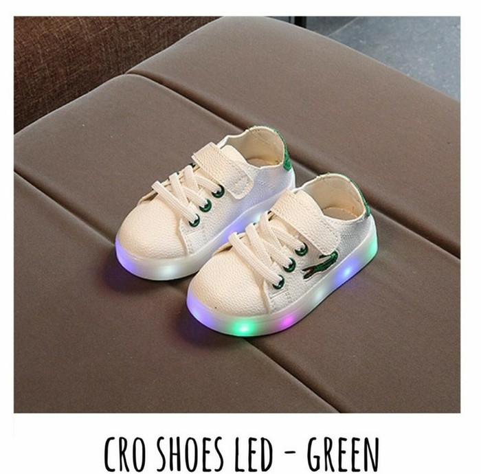 1b88bb76473f3 Jual CRO SHOES LED - GREEN ( size 21 - 25 ) - Josibu Store