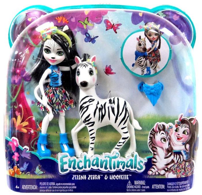 harga Enchantimals zelena zebra doll & hoofette - boneka barbie mattel Tokopedia.com