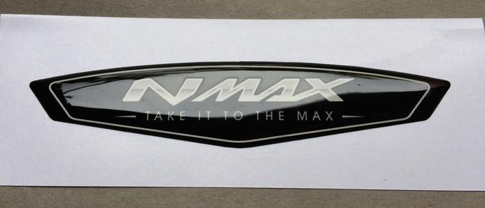 harga Aksesoris motor stiker dom yamaha nmax white - take it to the max - Tokopedia.com
