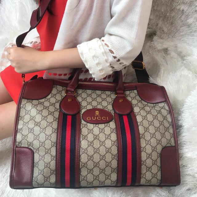 941b15e3af6891 Jual tas wanita Gucci Keepall Bandou#bux - Kota Batam ...