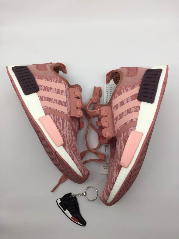 918aecf2a949e Jual Sepatu Sneakers Running Adidas NMD R1 Raw Pink Women Premium ...
