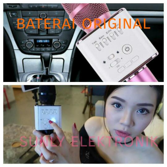 harga Mic ktv bluetooth q9 tuxun wireless smule hp handphone karaoke bagus Tokopedia.com