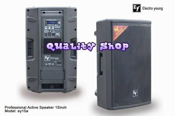 harga Electro young speaker active 15 inch ey-15a satu pasang Tokopedia.com