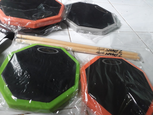 harga Harga miring drum pad customize size 8 inch' include stick super murah Tokopedia.com