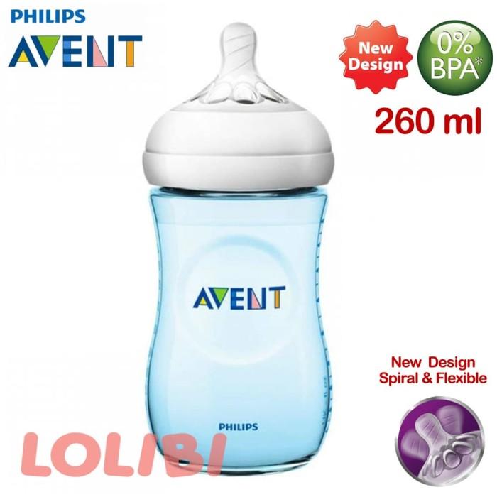 harga Philips avent natural 2.0 botol susu bayi 260ml blue Tokopedia.com