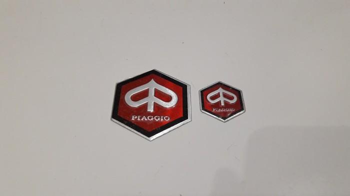 harga Emblem dasi + emblem stang vespa super/sprint/rally Tokopedia.com
