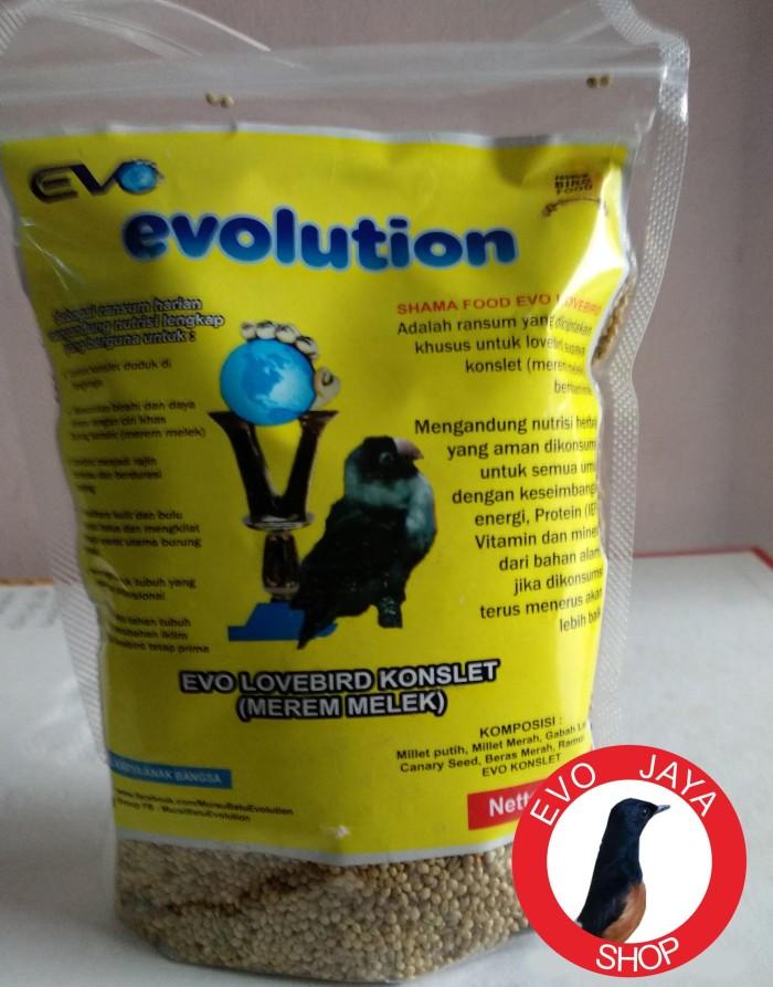 harga Pakan burung love bird konslet evolution Tokopedia.com
