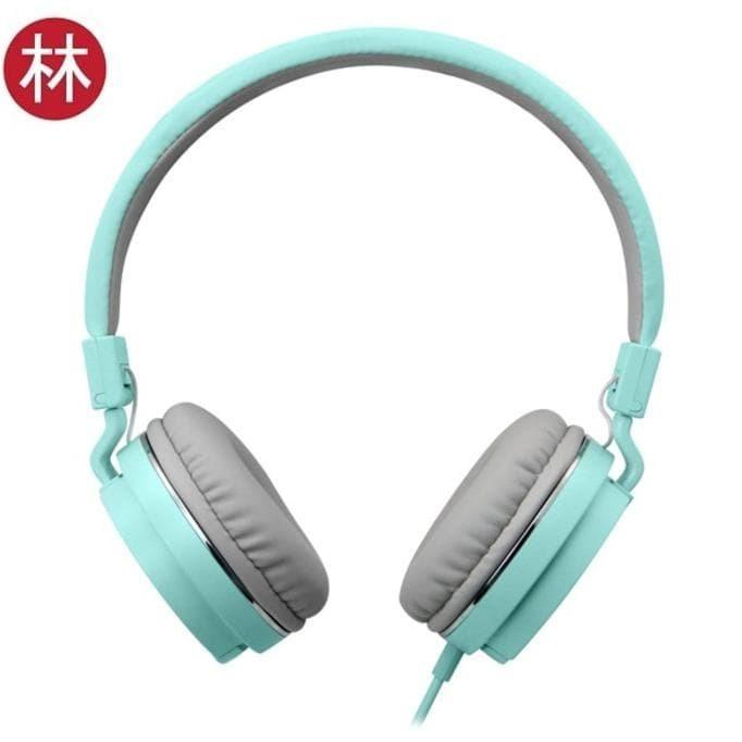 Dijual Vivan Gorsun Gs-779 3.5Mm Foldable Wired Stereo Headset Green
