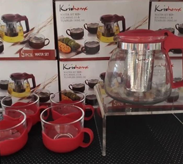 Krishome Tea Set / Kris Tea Set  - Blanja.com
