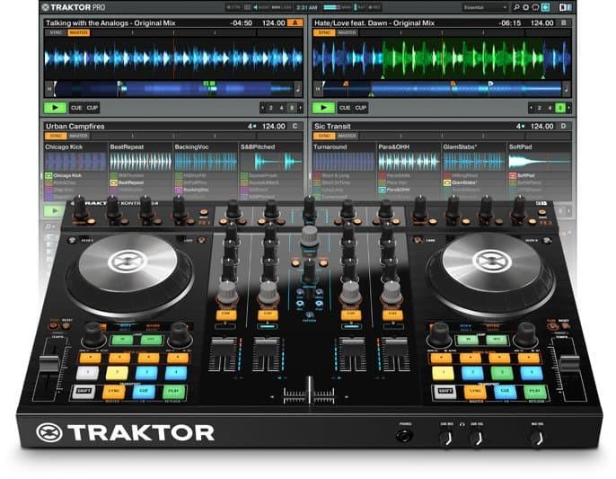 harga Native instruments traktor kontrol s4 mk2 dj controller Tokopedia.com