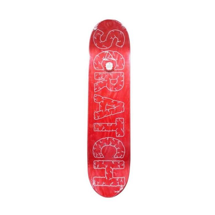 Scratch Skateboard Deck Crack Edition Peralatan Skate -