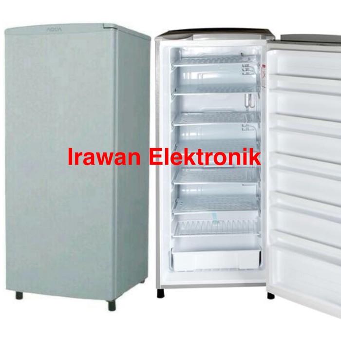 harga Aqua freezer asi es batu s6 aqfs6 6rak promo murah Tokopedia.com