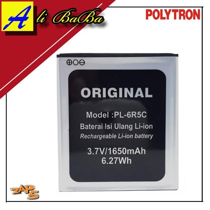 harga Baterai handphone polytron zap 5 4g450 pl-6r5c original batu batre oem Tokopedia.com